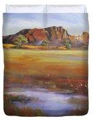 Rainbow Valley  Australia Duvet Cover