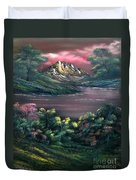 Rainbow Valley Duvet Cover