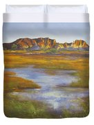 Rainbow Valley Northern Territory Australia Duvet Cover