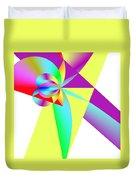 Rainbow Wedding Gift Duvet Cover