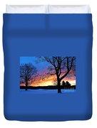 Rainbowed Sunrise Duvet Cover