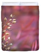 Rainbows From Seeds Duvet Cover