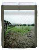 Raincatcher Web Duvet Cover