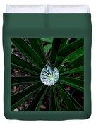 Raindrop Ammonite Duvet Cover