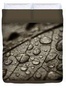 Raindrops #1 Duvet Cover