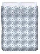Raindrops Ltblue Pattern Duvet Cover