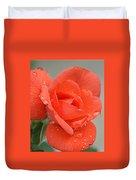 Raindrops On Roses Duvet Cover