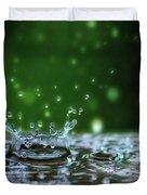Raindrops Rejuvinate Duvet Cover