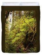 Rainforest Awakening Duvet Cover