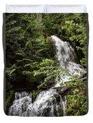 Rainforest Falls Duvet Cover