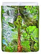 Rainforest Green Duvet Cover