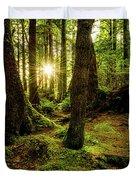 Rainforest Path Duvet Cover