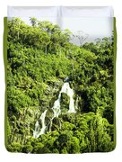 Rainforest Rapids Duvet Cover