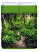 Rainforest Trail Duvet Cover