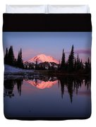 Rainier Sunrise Duvet Cover