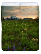 Rainier Wildflower Light Duvet Cover