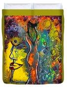 Rainsunbow Duvet Cover