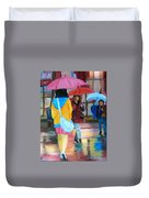 Rainy City Duvet Cover