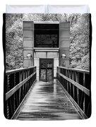 Rainy Day At Crystal Bridges Duvet Cover