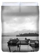 Rainy Day Dock Duvet Cover