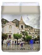 Rainy Day In Taormina 2 Duvet Cover