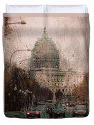 Rainy Dc Duvet Cover