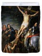 Raising The Cross Duvet Cover