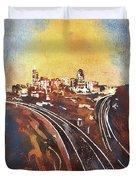 Raleigh Sunrise II Duvet Cover