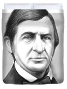 Ralph Waldo Emerson Duvet Cover