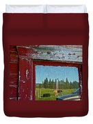 Ranch Reflection Duvet Cover