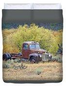 Ranch Truck II Duvet Cover
