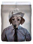 Rancher Dog Duvet Cover