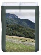 Rancho Sierra Vista Satwiwa Mountains Portrait Duvet Cover