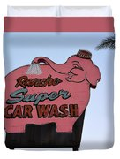 Rancho Super Car Wash  Duvet Cover
