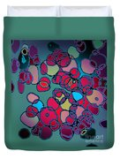 Random Cells  Duvet Cover