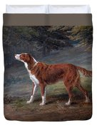 Ranger A Setter The Property Of Elizabeth Gray Duvet Cover