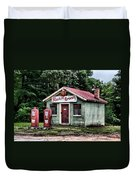 Rankins Grocery In Watercolor Duvet Cover