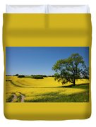 Rapeseed Field,west Sussex, England  Duvet Cover