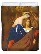 Raphael And Fornarina 1840 Duvet Cover