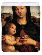Raphael Madonna And Child C Duvet Cover