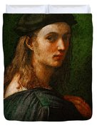 Raphael Portrait Of Bindo Altoviti Duvet Cover