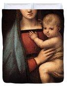 Raphael The Granduca Madonna Duvet Cover
