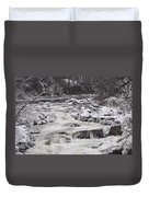 Rapids At Bull's Bridge 1 Duvet Cover