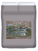 Rapids On The Petite Creuse At Fresselines, 1889 Duvet Cover