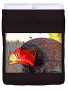 Raptor Head Duvet Cover