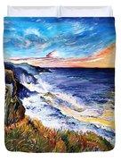 Rapturous Sunset Duvet Cover
