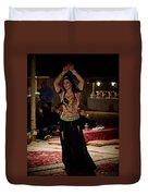 Raqs Sharqi Duvet Cover