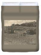 Raspberry Fields  Duvet Cover