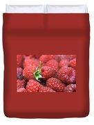 Raspberry Duvet Cover