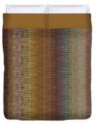 Raspberry Tonal Tapestry Duvet Cover